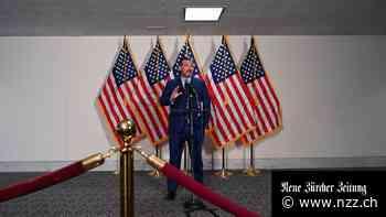 Retourkutsche: Peking belegt vier amerikanische Politiker mit Sanktionen