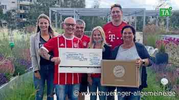 Bayern-München-Fanclub setzt seine Spendenaktion fort - Thüringer Allgemeine
