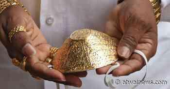 Turkish goldsmith creates golden face mask for pandemic brides - Ahval