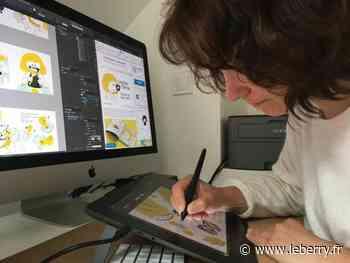 Originaire de Sens-Beaujeu, Laure Lacour s'illustre avec un premier album jeunesse qu'elle souhaite auto-éditer grâce à un financement participatif - leberry.fr