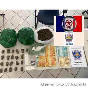 Grupo é preso por tráfico em Santa Cruz do Capibaribe - Pernambuco Notícias