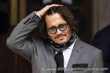 Johnny Depp tells court he battled superbug after finger reattached - St. Thomas Times-Journal