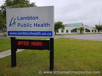 Sarnia-area COVID-19 caseload unchanged - St. Thomas Times-Journal