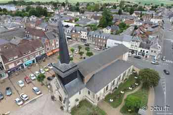 Grandvilliers, cité historique, économique et écologique vu du ciel - actu.fr