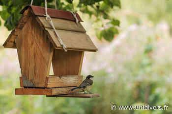 Fabrication de nichoirs à oiseaux Centre social mercredi 19 août 2020 - Unidivers