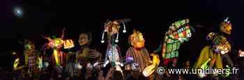 Ateliers manipulation de masques lumineux géants Parc de l'Église mardi 11 août 2020 - Unidivers