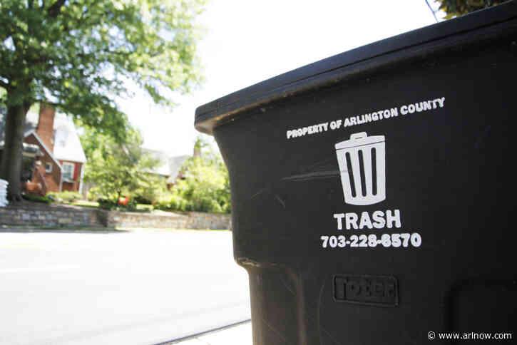 Arlington Residential Trash Collection Delayed