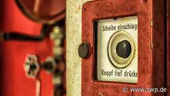 Brand in Ellwangen: Unbekannter zündet Wäsche an - SWP