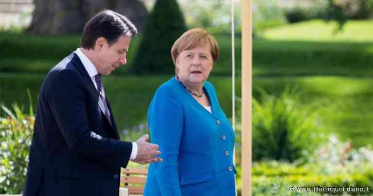 Recovery Fund, la conferenza stampa di Giuseppe Conte e Angela Merkel: la diretta tv