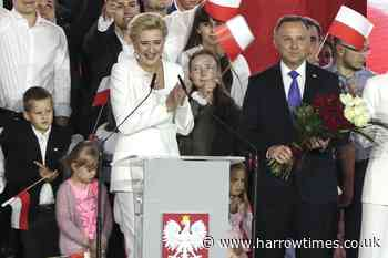 Incumbent claims victory in tight race for Poland's presidency - Harrow Times