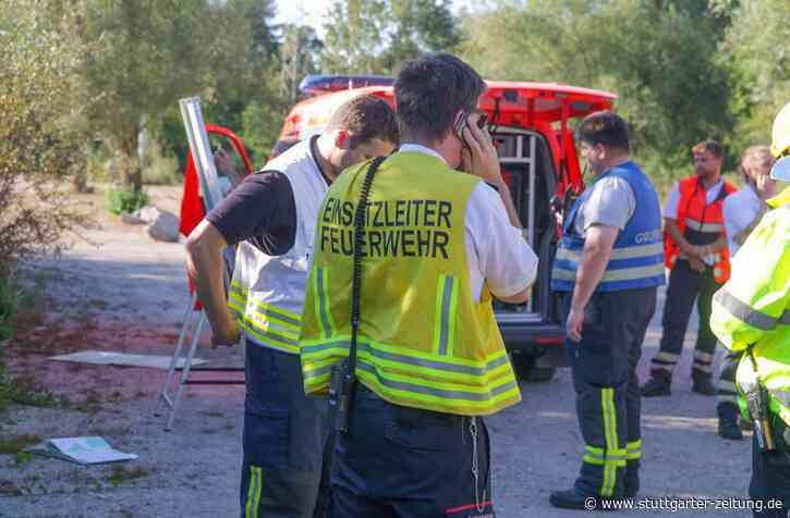 Rheinstetten nahe Karlsruhe - Ultraleichtflugzeug stürzt in Wald – zwei Menschen sterben - Stuttgarter Zeitung
