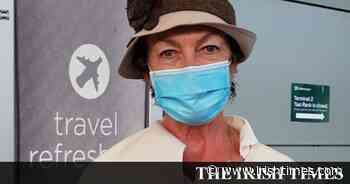 US passengers fly into Dublin: 'I'm here for six days. I guess I'll have to stay inside' - The Irish Times