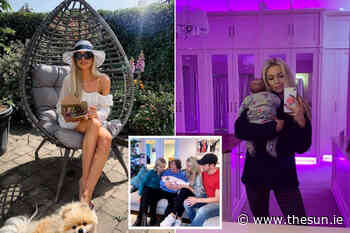Inside glamorous Dublin home of Irish influencer Rosanna Davison she shares with hubby Wes and baby Sophia - The Irish Sun