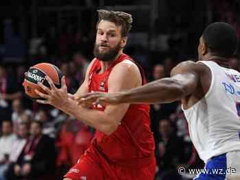 Wechsel ins Ausland: Basketball-Nationalspieler Barthel verlässt den FC Bayern - Westdeutsche Zeitung