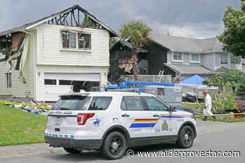 Charges laid in Langley homicide, house fire investigation - Aldergrove Star
