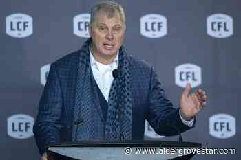 CFL submits revised financial request to federal government: source - Aldergrove Star