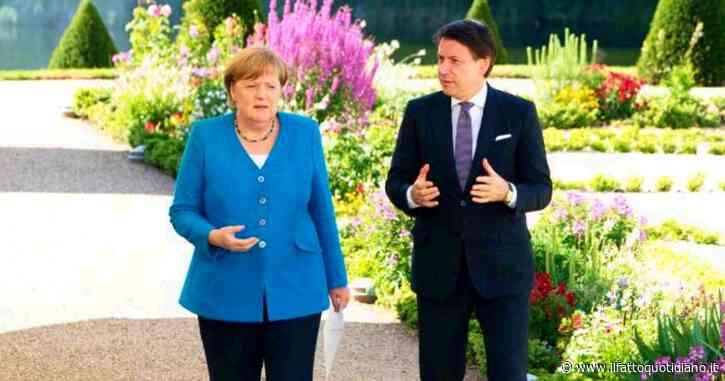 """Recovery fund, incontro Merkel-Conte. La cancelliera: """"Arriveremo a un accordo. Dagli italiani straordinaria disciplina"""". Il premier: """"Ue offra soluzioni, non illusioni"""""""