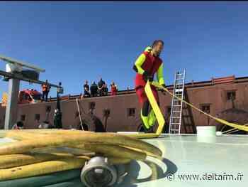 Des plongeurs mobilisés pour colmater une brèche - Delta FM