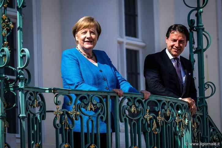 """Conte si arrende alla Merkel: """"Sui controlli non transigo"""""""