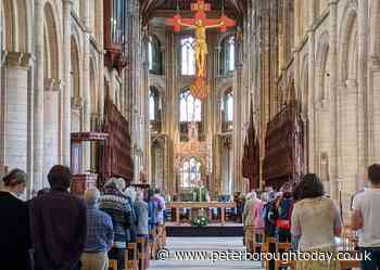First socially distanced service at Peterborough Cathedral 'feels like coming home' - Peterborough Telegraph