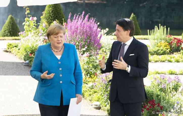"""Conte si arrende alla Merkel: """"È giusto che ci controllino"""""""