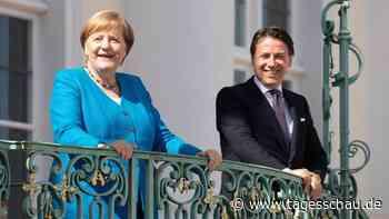 Nach Treffen mit Conte: Einigkeit über EU-Wiederaufbaufonds