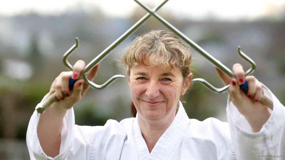 Third black belt continues karate legacy for Liz - Stuff.co.nz