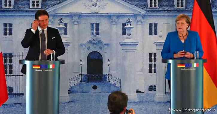 "Merkel: ""Da italiani disciplina ammirabile, superiamo insieme crisi economica e sociale"""