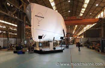 La Ciotat : iXblue jonctionne la coque du nouveau navire du DRASSM | Mer et Marine - Meretmarine.com