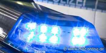 Falkensee: Autofahrt endete in einem Graben - Märkische Allgemeine Zeitung