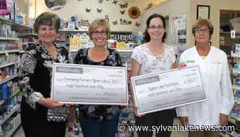 PHOTO: Sylvan Lake Pharmacy makes donation to local charities - Sylvan Lake News