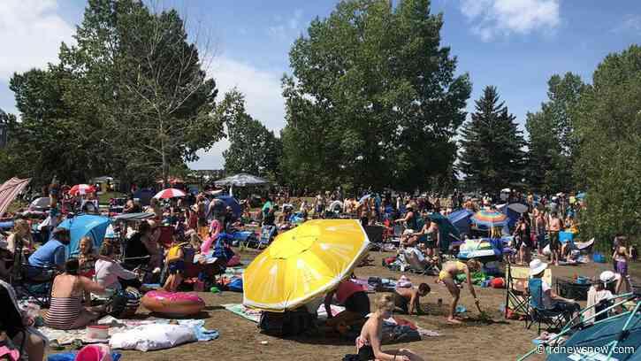 Alberta Health: Large crowds at Sylvan Lake beach a no-no - rdnewsnow.com