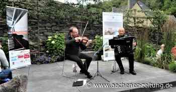 Gartenkonzert in Monschau: Gelungenes Experiment – aus der Not geboren - Aachener Zeitung