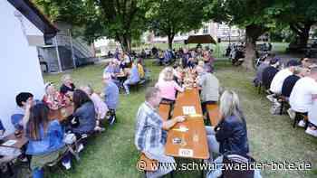 Horb a. N.: Musik im Schlossgarten bereitet viel Freude - Schwarzwälder Bote