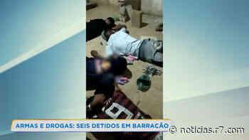 Seis homens são presos por tráfico de drogas em Esmeraldas (MG) - HORA 7