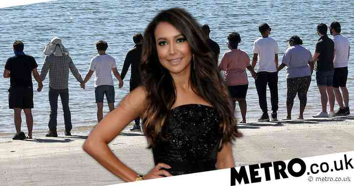 Glee cast 'join Naya Rivera's family at Lake Piru' after body found amid search for missing actress
