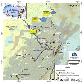 Standard Uranium Acquires Two New Projects in the Eastern Athabasca Basin - AZoMining