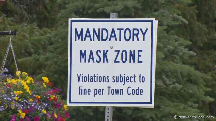Colorado Mountain Towns Adopt Mask Mandates