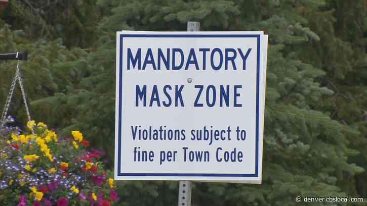 Colorado Mountain Towns Adopt Mask Mandates