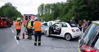 Rettungshubschrauber bei Wehrheim im Einsatz - Usinger Anzeiger