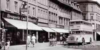 Von Doppelstock bis Schlenki: So entwickelte sich der Omnibusverkehr in Zeitz - Mitteldeutsche Zeitung