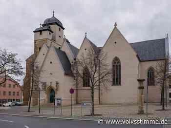 Gruß aus dem Mittelalter: Malerei an Michaeliskirche Zeitz | Volksstimme.de - Volksstimme
