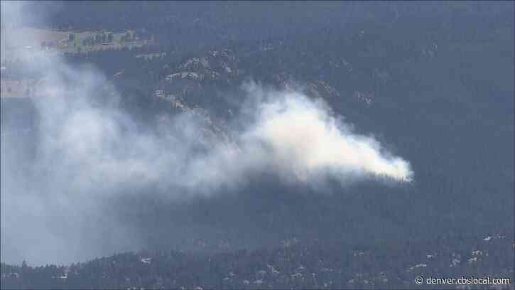 Wildfire Burning Near Evergreen, Nearby Park Closed