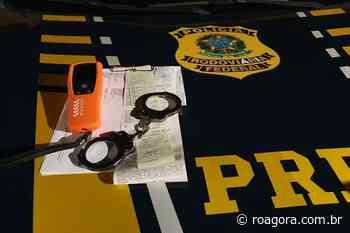 PRF detém condutor embriagado em Pimenta Bueno, RO - Roagora