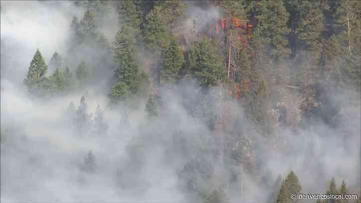 Evacuations Ordered As Wildfire Burns Near Evergreen