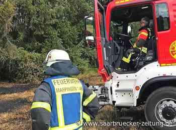Einsatz in Marpingen: Die Flammen breiteten sich rasant aus - Saarbrücker Zeitung