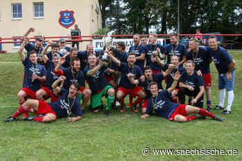 Der VfB Zittau feiert das Fußball-Double - Sächsische Zeitung