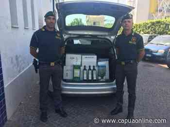 """Gricignano di Aversa: La Guardia di Finanza sequestra 200 litri di falso olio recante etichetta """"extra vergine di oliva"""" - Capuaonline.com"""