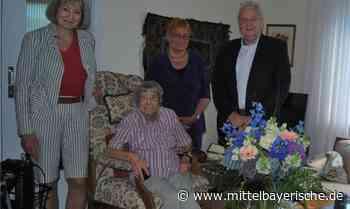 103-Jährige hat kein Problem mit Treppen - Regensburg - Nachrichten - Mittelbayerische