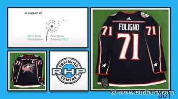 Grab a signed pro hockey jersey and help out NEO Kids